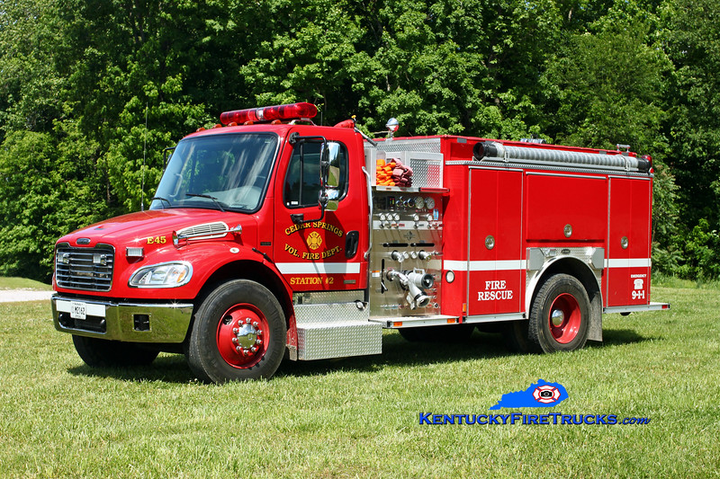 Cedar Springs #2  Engine 45<br /> 2003 Freightliner M2-106/E-One 1250/1000<br /> Kent Parrish photo