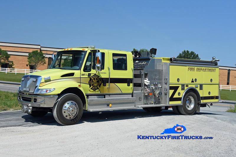 Scottsville-Allen County Engine 3<br /> x-East 60, KY <br /> 2002 International 4400/KME 1250/1000<br /> Kent Parrish photo