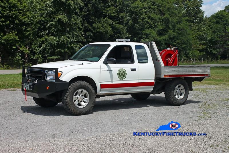 <center> South Allen  Rescue 33 <br> 1998 Toyota Tacoma 4x4/FD 50/100 <br> Kent Parrish photo <br> </center>