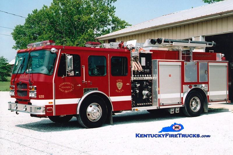 <center> RETIRED <br> Anderson County  Engine 52 <br> 2003 E-One Typhoon 1250/1000 <br> Greg Stapleton photo </center>
