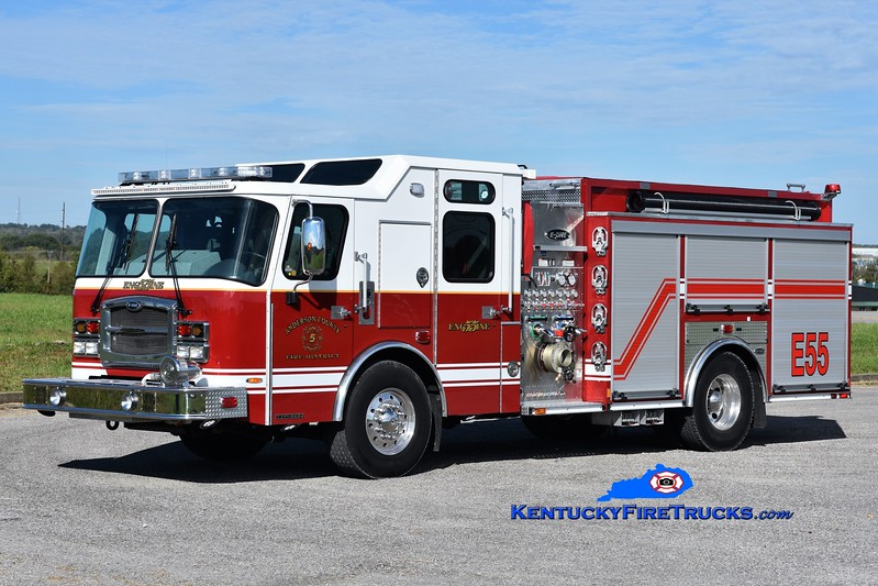 Anderson County Engine 55<br /> 2017 E-One Typhoon 1500/1000/30<br /> Greg Stapleton photo