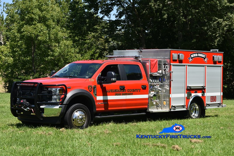 Anderson County Engine 50<br /> 2020 Ford F-550 4x4/E-One 1250/300/20<br /> Greg Stapleton photo