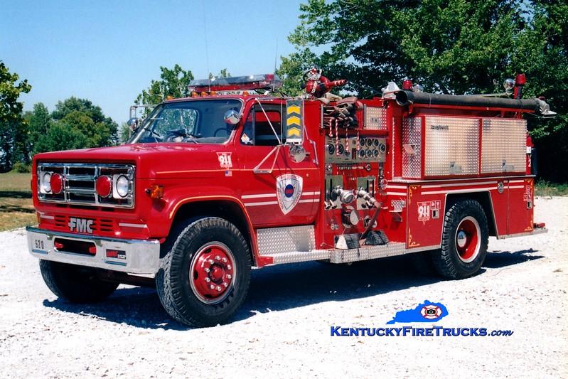 <center> RETIRED <br> Anderson County  Engine 52 <br> 1985 GMC/FMC 1000/1000 <br> Greg Stapleton photo </center>