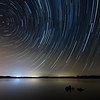 star trails, Falls Lake<br /> best print size - all