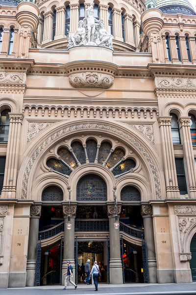 Queen Victoria Building in Sydney CBD