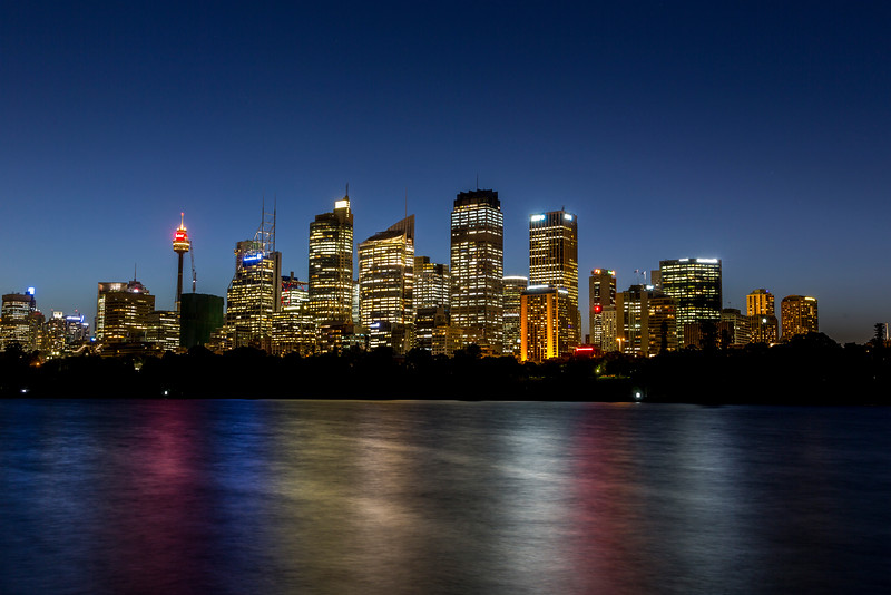 Sydney at Night Time