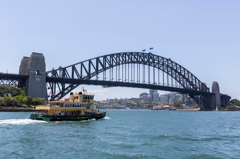 Sydney Harbour Bridge from fairy