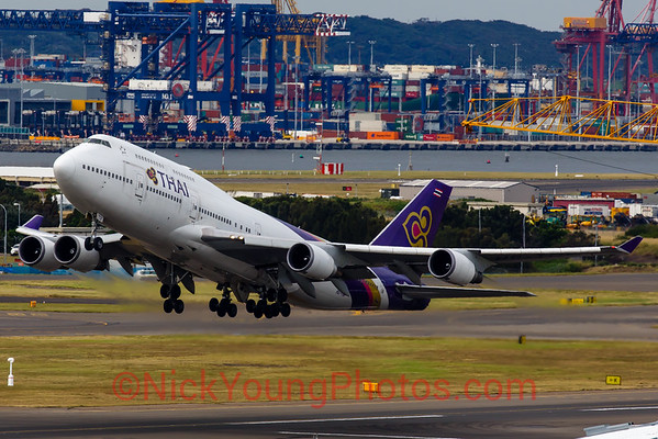 Thai Airways Boeing 747-400