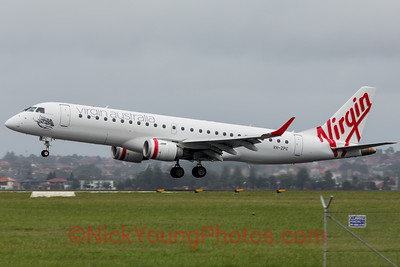 Virgin Australia Embraer E-190