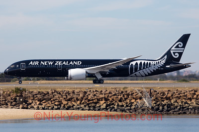 "Air New Zealand Boeing 787-9 ""Black"""