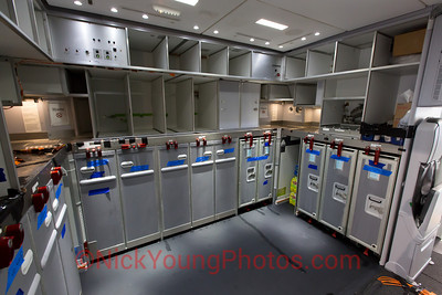 Boeing 787-9 rear galley