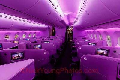 Air New Zealand Boeing 787-9 Business Class cabin