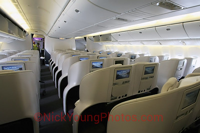 Air New Zealand Boeing 777-300ER Premium Economy cabin