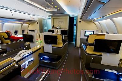 Lufthansa Airbus A330-300 First Class cabin