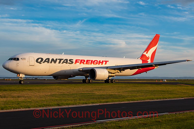 Qantas Freight Boeing 767-300ERF