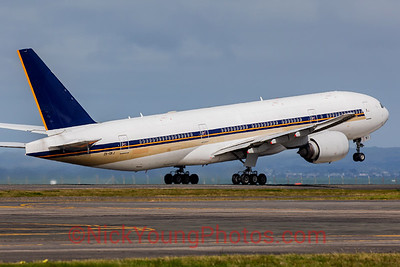 ex-Singapore Airlines Boeing 777-200ER