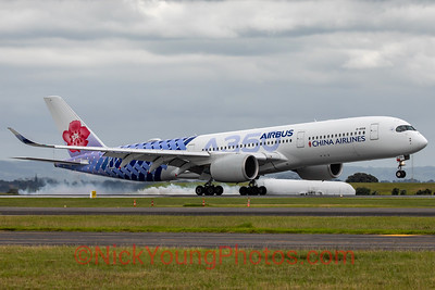 "China Airlines Airbus A350-900 ""Carbon Fibre"""
