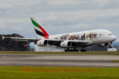 Emirates Airbus A380 United for Wildlife