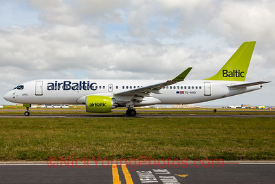 Air Baltic Airbus A220-300/CS300