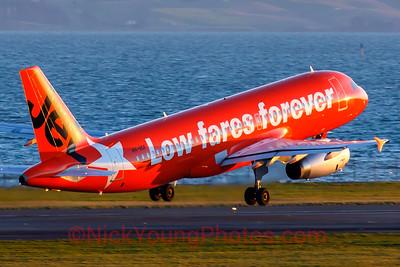 """Jetstar Airbus A320 """"Jaffa Jet"""""""