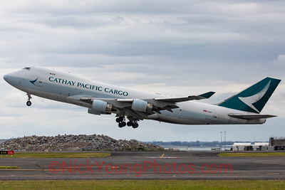 Cathay Pacific Cargo Boeing 747-400F