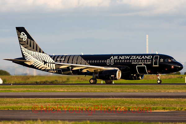 Air New Zealand Airbus A320 All Blacks