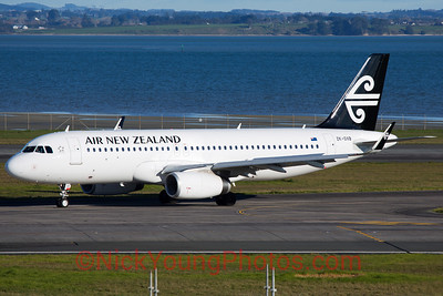 Air New Zealand Airbus A320 sharklets