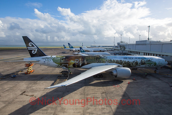 "Air New Zealand Boeing 777-300ER ""Hobbit"""