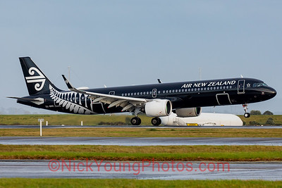 Air New Zealand Airbus A321neo black