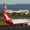 Qantas and Air New Zealand