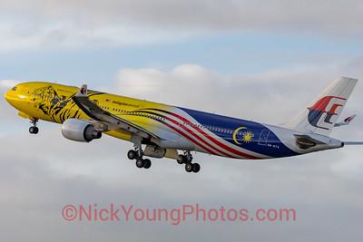 "Malaysia Airlines Airbus A330-300 ""Harimau Malaya"""
