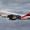 """Emirates Airbus A380 """"PSG"""""""