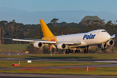 Polar Air Cargo/DHL Boeing 747-8F