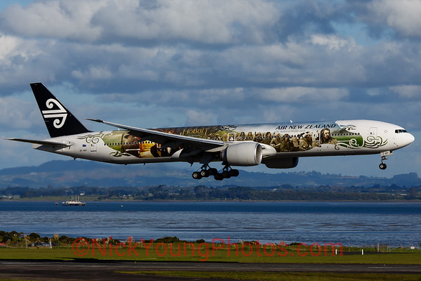 "Air New Zealand Boeing 777-300ER ""Hobbit Jet"""