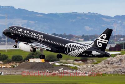 "Air New Zealand Airbus A320 ""Black"""