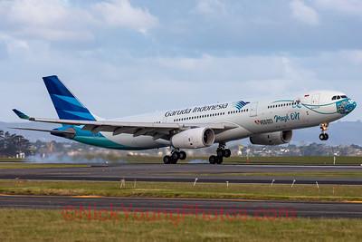 "Garuda Indonesia Airbus A330-300 ""Mask"""