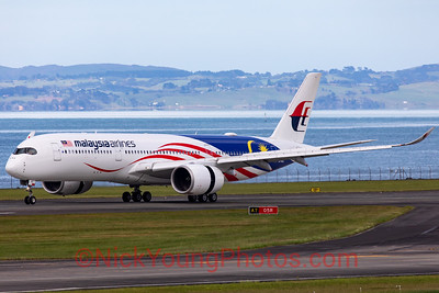 "Malaysia Airlines Airbus A350-900 ""Negaraku"""