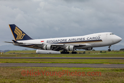 Singapore Airlines Cargo Boeing 747-400F