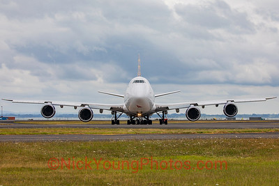 Head-on with an Atlas Air Boeing 747-8F