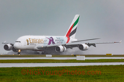 Emirates Airbus A380 Rugby World Cup 2019