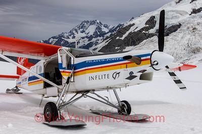 Mount Cook Ski Planes Pilatus PC-6 Porter