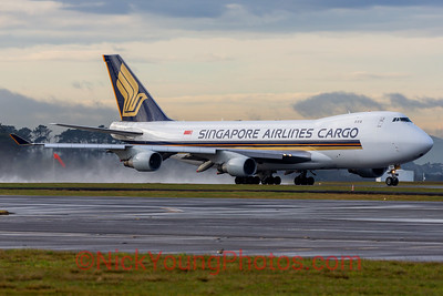 Singapore Airlines Cargo Boeing 747-400F