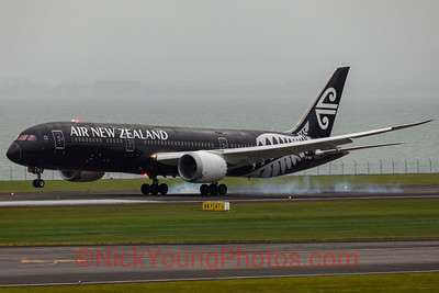 "Air New Zealand Boeing 787-9 Dreamliner ""Black"""