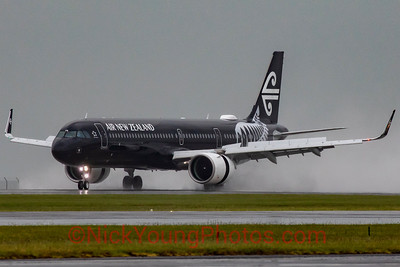 "Air New Zealand Airbus A321neo ""Black"""