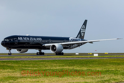Air New Zealand Boeing 777-300ER black