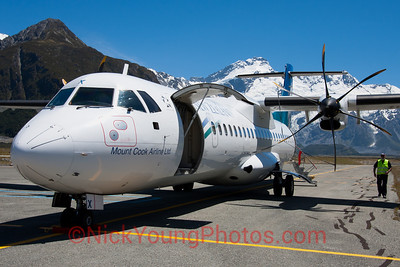 Air New Zealand Link/Mount Cook Airline ATR 72-500