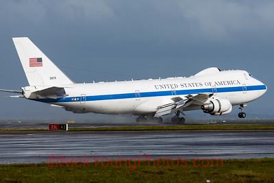 USAF Boeing E-4B