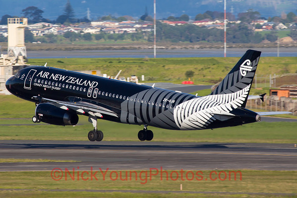 "Air New Zealand Airbus A320-200 ""All Blacks"""