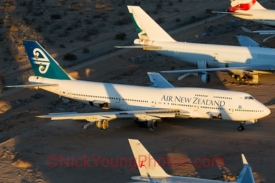 Air New Zealand Boeing 747-400