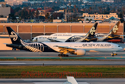 Air New Zealand triple triple seven